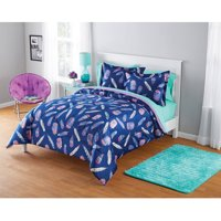 Your Zone Micromini Inky Feather Comforter Set, 1 Each