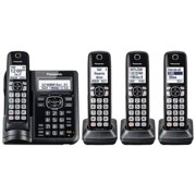 Panasonic Cordless Phones with Answering Machine - 4 Handsets