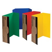 "Pacon® Presentation Board, 48"" x 36"", Green, Red, Yellow, Blue, Pack of 4"