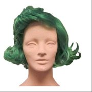 Wonka Chocolate Factory Worker Green Costume Wig 2fba580ea