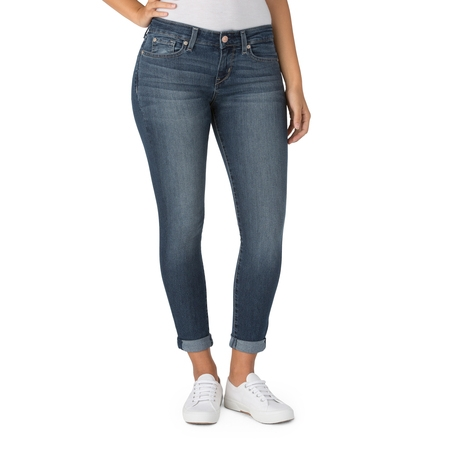 - Women's Modern Simply Stretch Capri Jeans