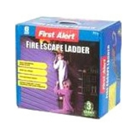 First Alert EL53W-2 Three-Story Portable Fire Escape Ladder, 24 (Portable Stick Ladders)