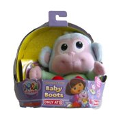 d73d91e743d Fisher Price Dora The Explorer Baby Boots Stuffed Animal Monkey Pal