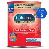 Enfagrow Premium Toddler Next Step Natural Milk Drink (6 Cans) - Powder, 32 oz Cans