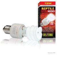 Exo Terra UVB 200 Intense Compact Fluorescent Lamp, 13-watt