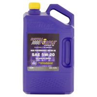 Royal Purple SAE 5W-20 Synthetic Oil, 5 qt