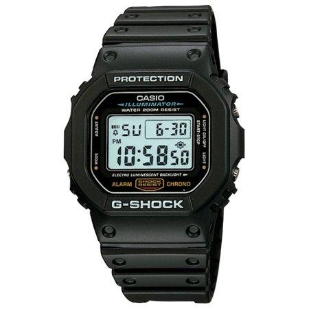 G-Shock Classic Core DW5600E-1 Wristwatch (Mia Rubber Wrist Watch)