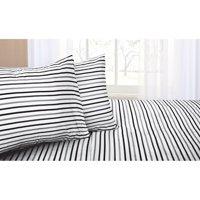 Mainstays Stripes Sheet Set, Multiple Colors