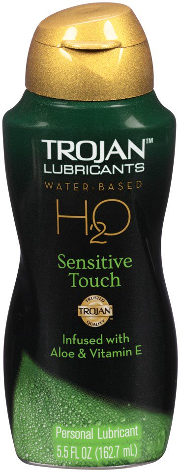 Trojan H20 Sensitive Touch Water Based Lubricant - 5.5