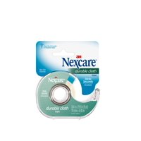 Nexcare Durable Cloth First Aid Tape, Dispenser, 3/4 inch x 6 yd