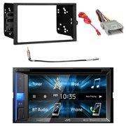 JVC KWV25BT 2DIN BT Car Stereo Receiver w/Touchscreen w/Metra 95-2001