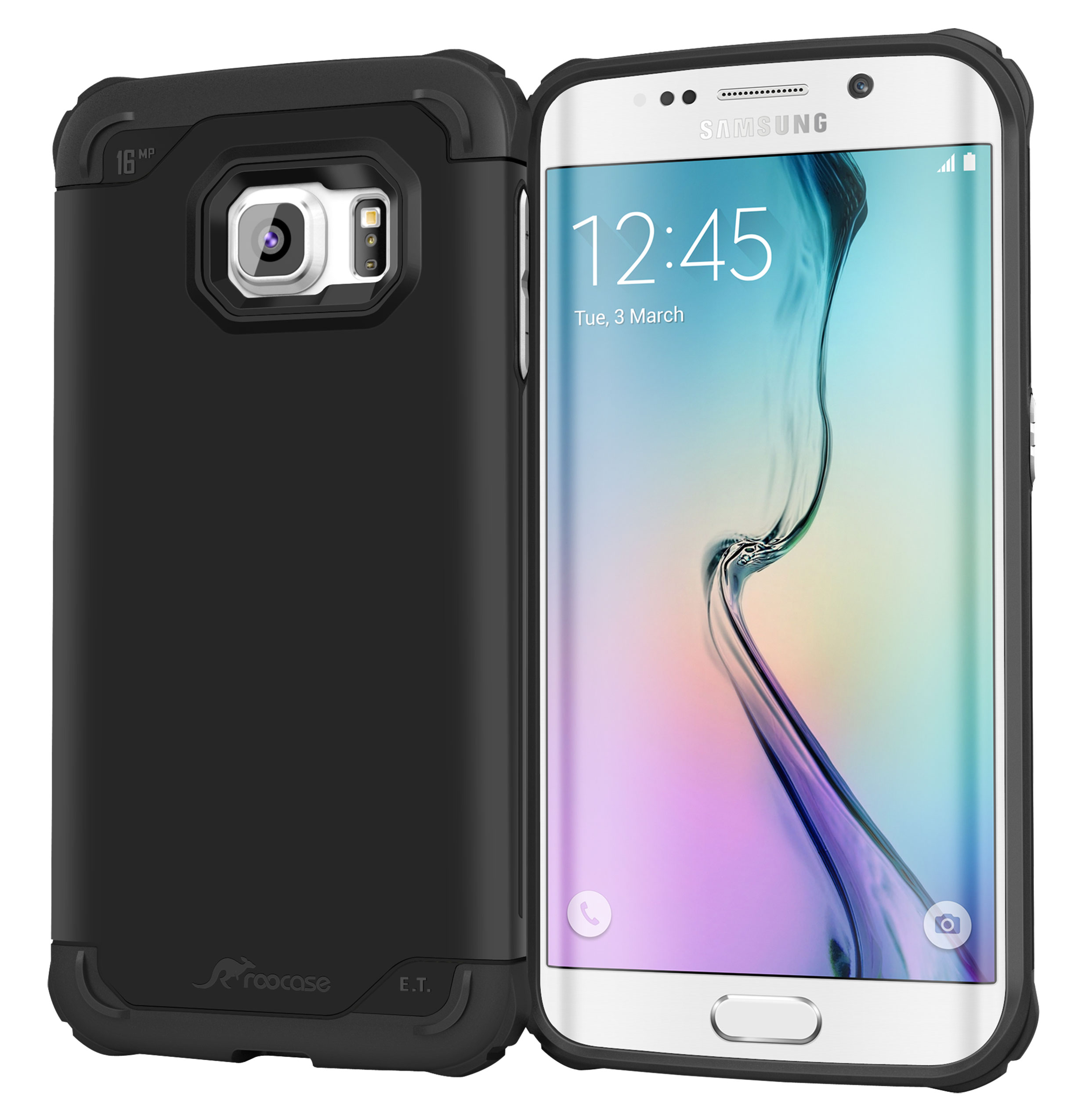 galaxy s6 casesgalaxy s6 edge case, roocase [exec tough] galaxy s6 edge slim fit case