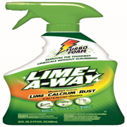 Lime-A-Way Bathroom Cleaner, 22oz Bottle, Removes Lime Calcium Rust