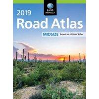 Rand McNally 2019 Midsize Road Atlas