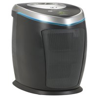 "GermGuardian AC5000E 3-in-1 Air Purifier with True HEPA Filter, UV-C Sanitizer, Captures Allergens, Smoke, Odors, Mold, Dust, Germs, Pets, Smokers, 28"" Germ Guardian Large Room Home Air Purifier"