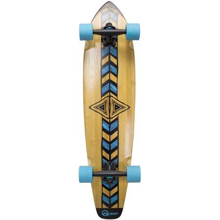 """Quest 36"""" Totem Longboard Skateboard"""