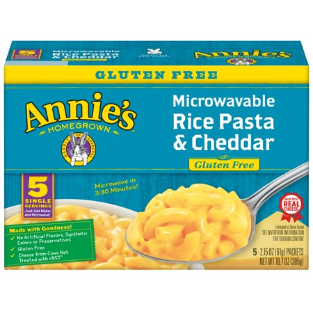 Annie's Gluten Free Rice Pasta and Cheddar, 10.7