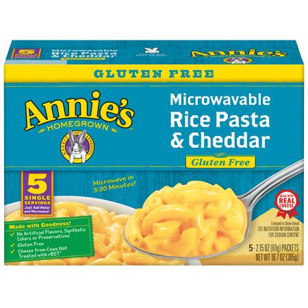 Annie's Gluten Free Rice Pasta and Cheddar, 10.7 oz