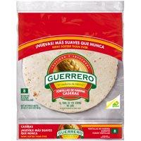 Guerrero Burrito Flour Tortillas Caseras, 8 ct, 20 oz