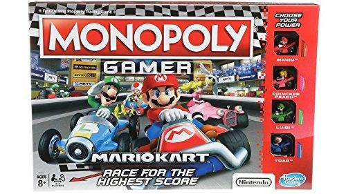 Monopoly Gamer Mario Kart - Mario Halloween Game