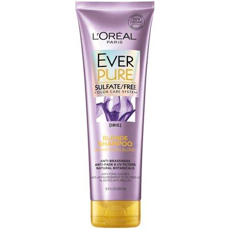 L'Oreal Paris EverPure Blonde Shampoo Sulfate Free, 8.5 fl.