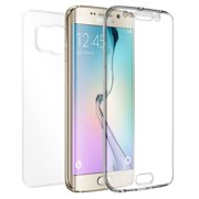 GALAXY S6 EDGE PLUS CASE , NEW BEYOND CELL TRI-MAX TRANSPARENT CLEAR CASE SCREEN GUARD PROTECTOR TPU SLIM COVER FOR SAMSUNG GALAXY S6 EDGE PLUS + (SM-G928, ...