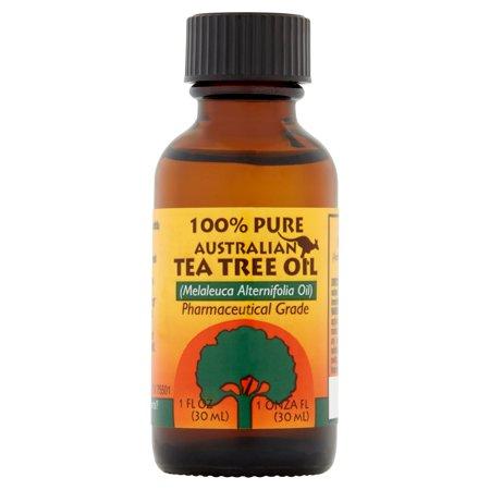 - (2 Pack) Humco 100% Pure Australian Tea Tree Oil 1 oz