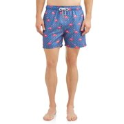 450439f29858 Endless Summer Men's Printed Volley 5.5 Inch Swim Shorts.
