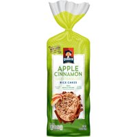 Quaker Apple Cinnamon Rice Cakes, 6.53 Oz.