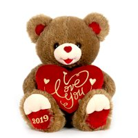 "Way To Celebrate 20"" Sweetheart Teddy 2019- Brown"