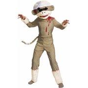 Zombie Sock Monkey Child Halloween Costume ba8ab16037cc4