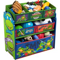 Teenage Mutant Ninja Turtles Multi-Bin Toy Organizer by Delta Children