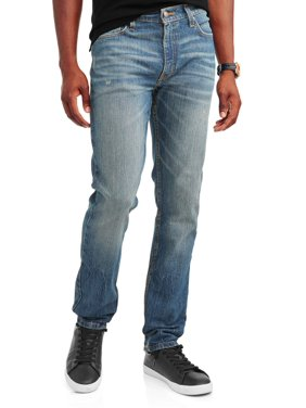 George Men's Slim Straight Fit Jean