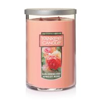 Yankee Candle Large 2-Wick Tumbler Scented Candle, Sun-Drenched Apricot Rose