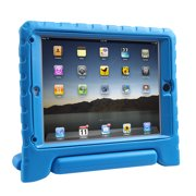 HDE iPad Air Bumper Case for Kids Shockproof Hard Cover Handle Stand with Built in Screen