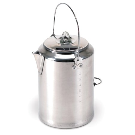 - Stansport Camper's Percolator 20 Cup Coffee Pot
