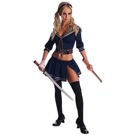 Baby Doll Sucker Punch Adult Halloween Costume](Cheap Costumes For Babies)