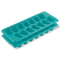 Sterilite Set of Two Ice Cube Trays, Blue Atoll