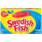 Swedish Fish Fat-Free Soft & Chewy Candies, 3.1 Oz.