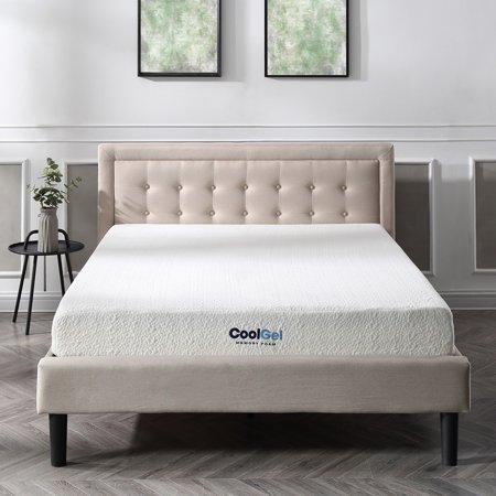 Modern Sleep Cool Gel Ventilated Gel Memory Foam 8 Inch