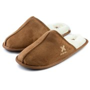 ba07d683a Roxoni Mens Warm Winter Slippers-Scuff Style-Sizes 7 to 13-Faux Sheepskin