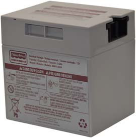 Replacement for POWER WHEELS KAWASAKI TERYX Y2484 BATTERY replacement battery ()