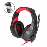 62d404465d0 Gaming Headset for PS4 Xbox One, Gaming Headphones with Mic Stereo Surround  Noise Reduction LED