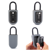 Combination Outdoor Key Safe Box Security Holder Case Lock Wall Mounted Car Home 10-Digit