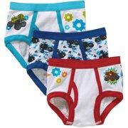 Blaze Toddler Boys Underwear, 3-Pack