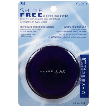 Loose Powder Makeup (Maybelline Shine Free Oil-Control Loose Powder )