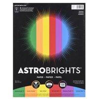 Astrobrights Color Paper, 8.5 x 11, 24 lb., Primary Assort., 120 Shts