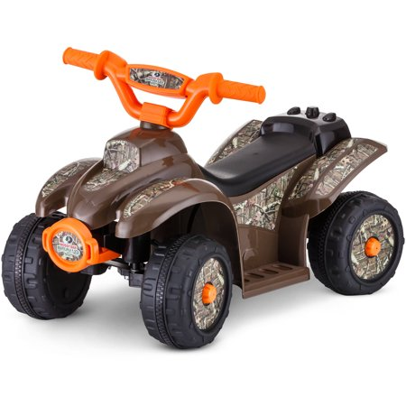 - Kid Trax 6V Mossy Oak Quad Ride-On