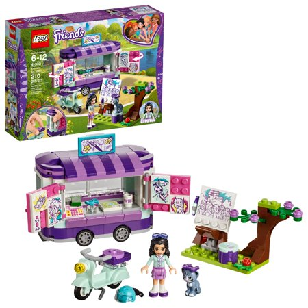 LEGO Friends Emma's Art Stand 41332 Building Set (210