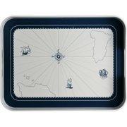 MB Coastal Designs Columbus Melamine Nautical Serving Platter